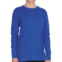 Dickies Thermal Crew Shirt - Long Sleeve (For Women) in Royal Blue