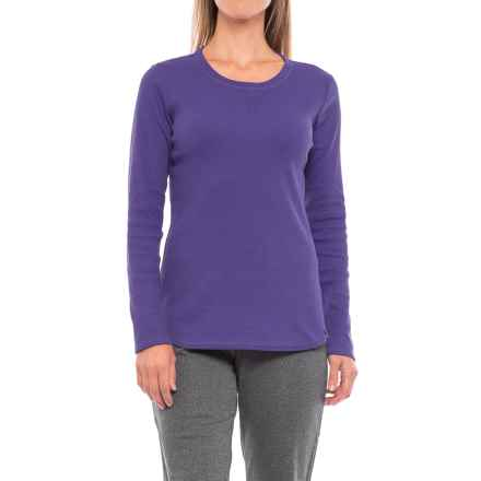 Dickies Thermal T-Shirt - Long Sleeve (For Women) in Petunia - Closeouts