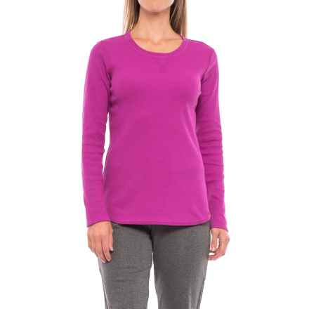 Dickies Thermal T-Shirt - Long Sleeve (For Women) in Pink Berry - Closeouts