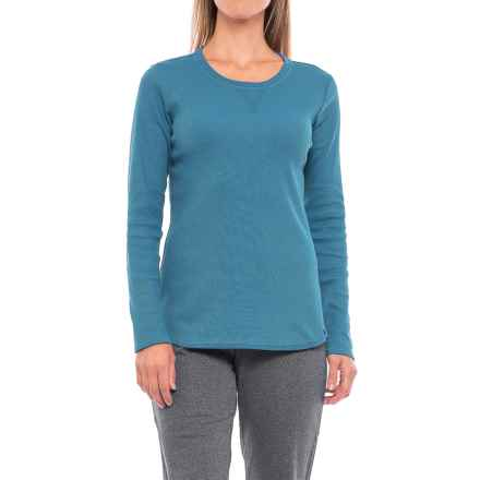 Dickies Thermal T-Shirt - Long Sleeve (For Women) in Teal - Closeouts