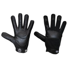 Dickies Tough Task Gloves - Black Goatskin Leather Palm (For Men and Women) in Black - Closeouts