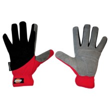 Dickies Tough Task Synthetic Leather Palm Gloves - Thinsulate® (For Men and Women) in Red/Black - Closeouts