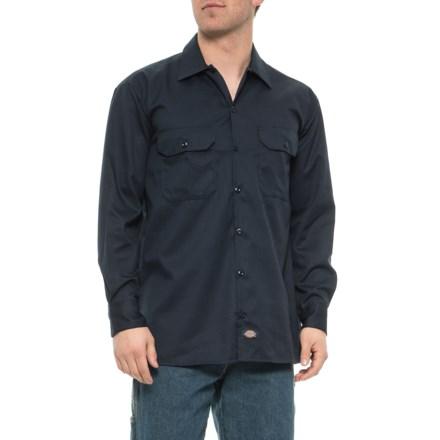 6c7da8c50114 Dickies Twill Work Shirt - Original Fit, Long Sleeve (For Men) in Dark