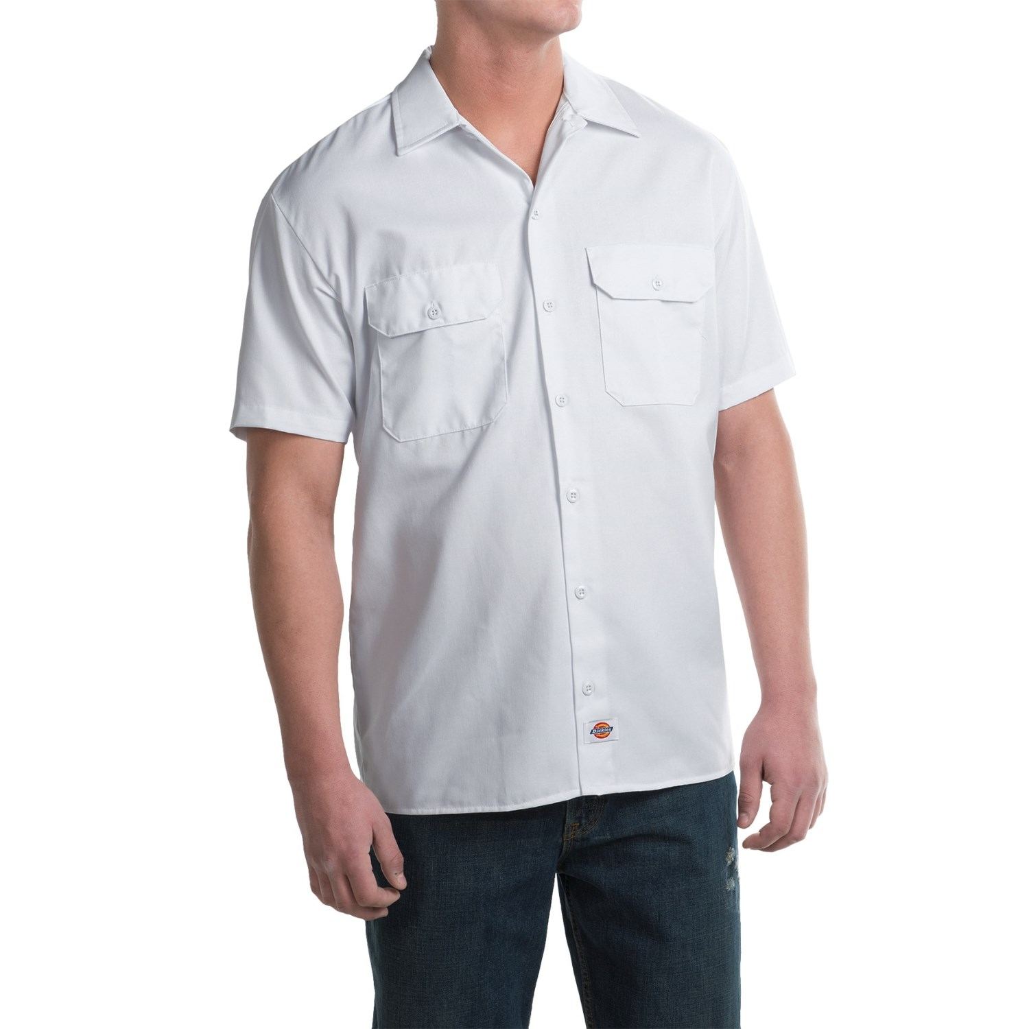 Van Heusen Men's Long Sleeve Twill Dress Shirt Alpha Sized. Dickies Men's Long-Sleeve Work Shirt Stain Release Wrinkle Resistant Cotton/Poly. by Dickies. $ - $ $ 14 $ 97 77 Prime. FREE Shipping on eligible orders. Some sizes/colors are Prime eligible. out of 5 stars 1,