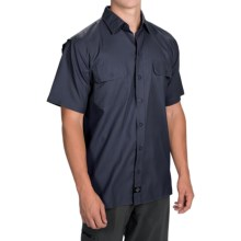 Dickies Ultimate Work Shirt - UPF 50+, Short Sleeve (For Men) in Dark Navy - Closeouts