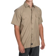 Dickies Ultimate Work Shirt - UPF 50+, Short Sleeve (For Men) in Desert Sand - Closeouts