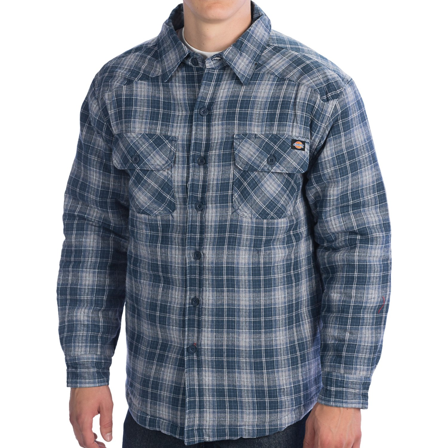 Dickies Western Flannel Shirt Insulated Quilted Long