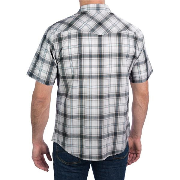 Dickies western plaid shirt for men save 51 Short sleeve plaid shirts