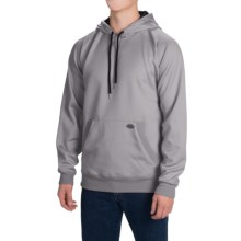 Dickies Work Tech Fleece Hoodie (For Men and Big Men) in Light Smoke - Closeouts