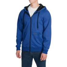 Dickies Work Tech Fleece Hoodie - Full Zip (For Men and Big Men) in Royal Blue - Closeouts