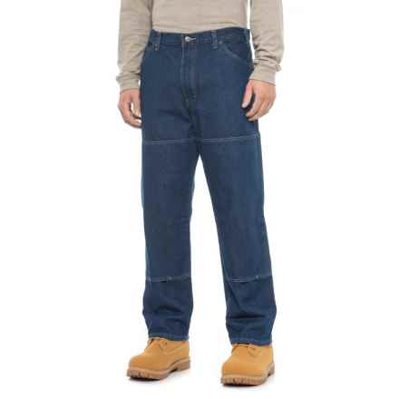 Dickies Workhorse Double-Knee Jeans - Relaxed Fit (For Men) in Rinsed Indigo Blue - 2nds