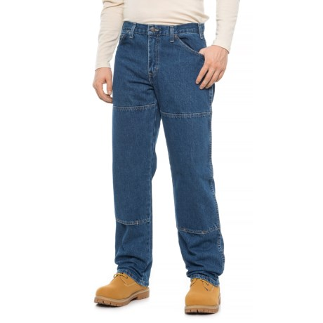 166246c1d2d Dickies Workhorse Double-Knee Jeans - Relaxed Fit (For Men) in Stonewashed  Indigo