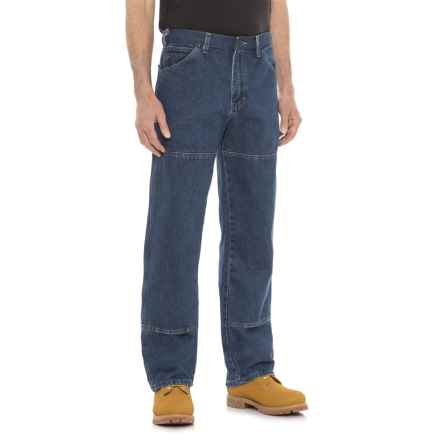 Dickies Workhorse Double-Knee Jeans - Relaxed Fit (For Men) in Stonewashed Indigo - 2nds
