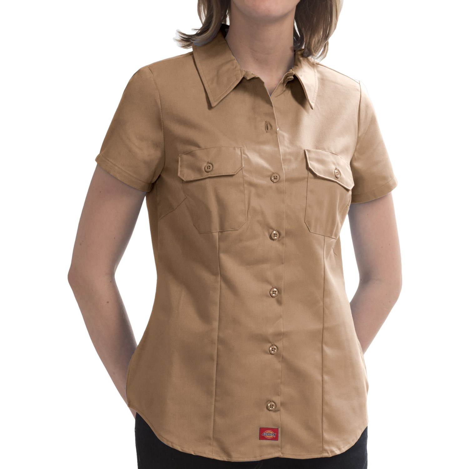 Dickies Wrinkle Resistant Work Shirt For Women Save 86