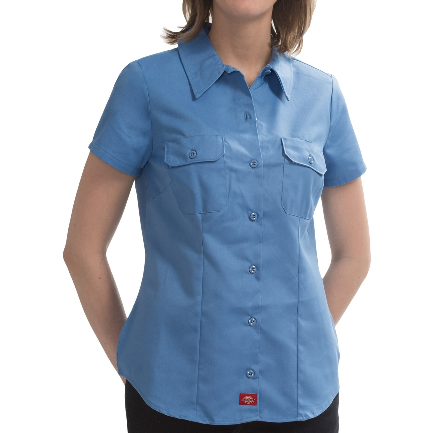 Dickies Wrinkle Resistant Work Shirt For Women Save 86: wrinkle free shirts for women