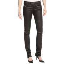 Diesel Livy Biker Skinny Jeans (For Women) in Black - Closeouts