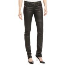 Diesel Livy Biker Skinny Jeans (For Women) in Black - Closeouts