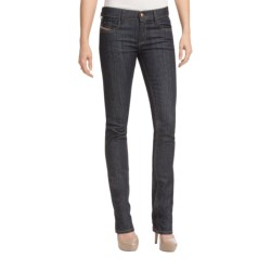 Diesel Livy Skinny Jeans - Super Slim Fit (For Women) in Dark Indigo