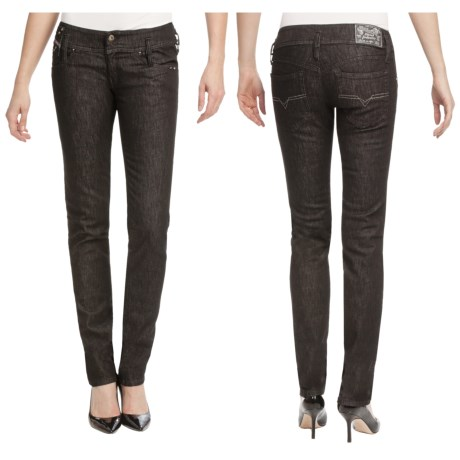 Diesel Matic Skinny Jeans - Stretch (For Women) in Grey