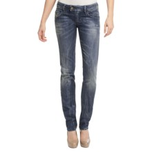 Diesel Nevy Skinny Jeans (For Women) in Dark Indigo - Closeouts