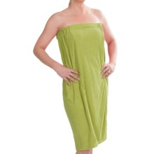 DII Adjustable Shower Wrap - Microfiber in Pistachio - Overstock