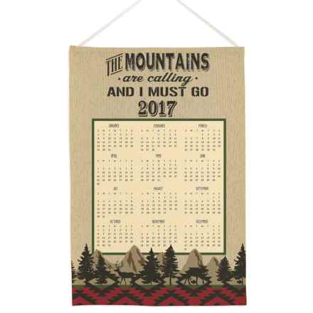 "DII Calendar Cotton Dish Towel - 18.5x28"" in A Walk In The Woods - Closeouts"