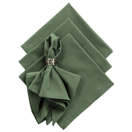 DII Cloth Napkins - Set of 4 in Black Forest