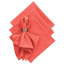 DII Cloth Napkins - Set of 4 in Red Gelato - Closeouts