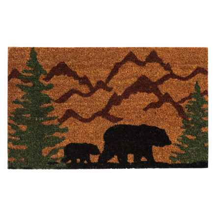 "DII Coir Everyday Doormats - 18x30"" in Bear Country - Closeouts"