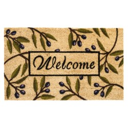 "DII Coir Everyday Doormats - 18x30"" in Olive Branch"