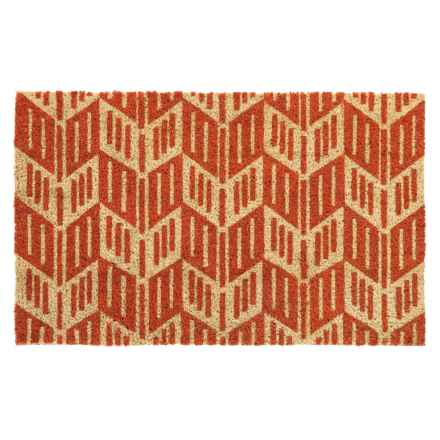 "DII Coir Fall Doormat - 18x30"" in Arrow Head Chevron - Closeouts"