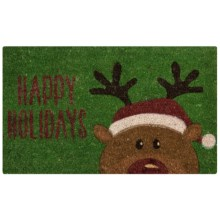 "DII Coir Holiday Doormat - 18x30"" in Holidays Reindeer - Closeouts"