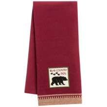 DII Embellished Dish Towel in Bear - Closeouts