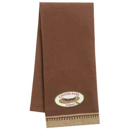 DII Embellished Dish Towel in Canoe - Closeouts