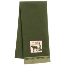 DII Embellished Dish Towel in Moose - Closeouts