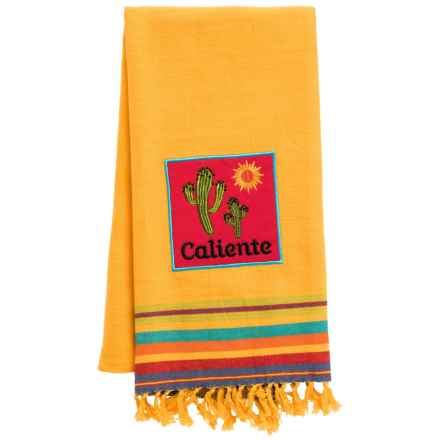 DII Fiesta Cotton Dish Towel in Caliente - Closeouts