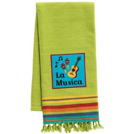 DII Fiesta Cotton Dish Towel in La Musica - Closeouts
