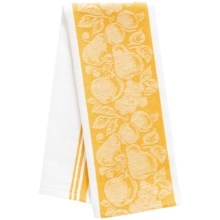 DII Jacquard Dish Towel in Lemon - Closeouts