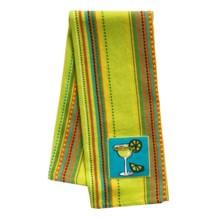 DII La Cocina Embellished Dish Towel in Margarita - Closeouts