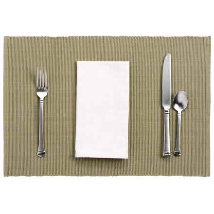 DII Lime Zest Basics Placemat in Taupe - Closeouts