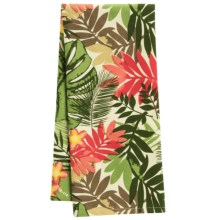 DII Palm Paradise Printed Dish Towel in Palm Paradise - Closeouts
