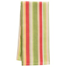 DII Palm Paradise Printed Dish Towel in Palm Tree Stripe - Closeouts