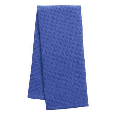 DII Waffle Dish Towel in Blueberry - Closeouts