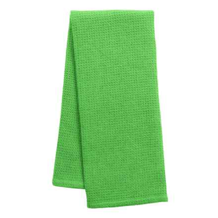 DII Waffle Dish Towel in Grass - Closeouts