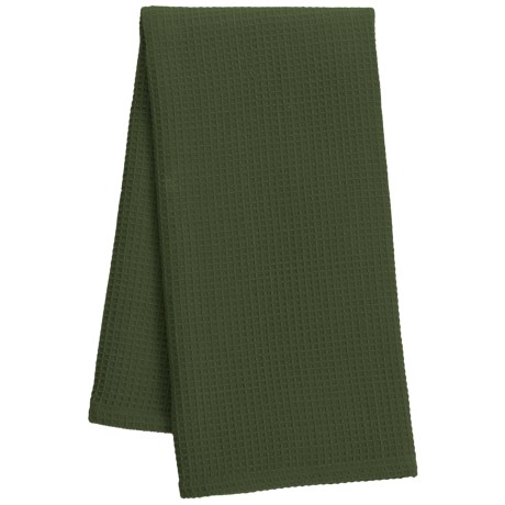 "DII Waffle Weave Dish Towel - 18x28"" in Loden"
