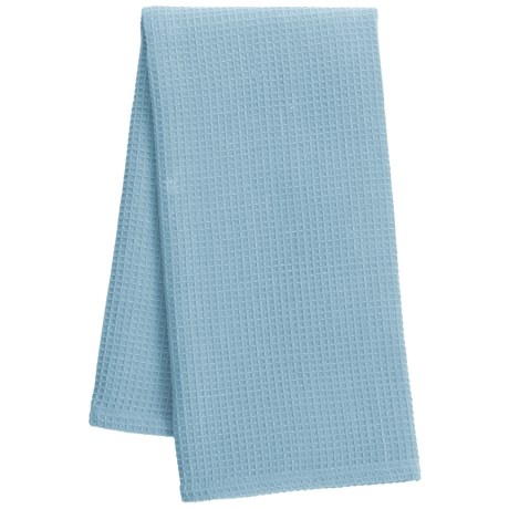 """DII Waffle Weave Dish Towel - 18x28"""" in Sky Blue"""