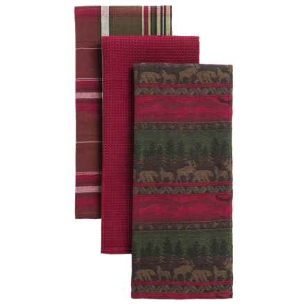 DII Wilderness Dish Towels - 3-Pack in Wilderness - Closeouts