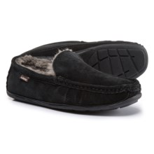 Dije California Boston Driving Moccasins - Suede (For Men) in Black - Closeouts