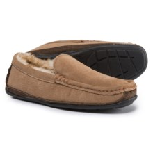 Dije California Boston Driving Moccasins - Suede (For Men) in Chestnut - Closeouts
