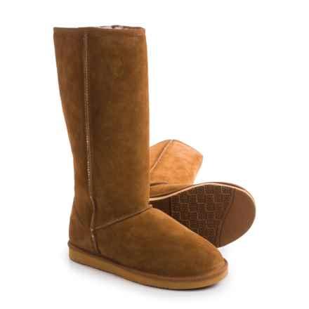 "Dije California Classic Sheepskin Boots - 14"" (For Women) in Chestnut - Closeouts"